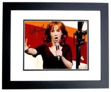 Kathy Griffin Signed - Autographed My Life on the D-List Comedian 8x10 Photo with SUCK IT Inscription BLACK CUSTOM FRAME