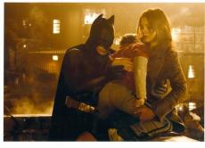 Katie Holmes and Christian Bale 8x10 photo (Batman Begins) Image #1
