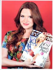 Katie Stevens Signed Autographed 8x10 Photo The Bold Type Faking It COA VD