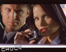 KATRINA LAW HAND SIGNED 8x10 COLOR PHOTO+COA        GORGEOUS ACTRESS FROM CHUCK
