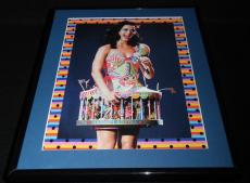 Katy Perry 2008 MTV Europe Framed 11x14 Photo Display