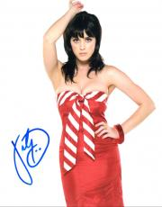 Katy Perry Autographed 8x10 Sexy Photo UACC RD Coa AFTAL