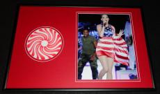 Katy Perry Framed 12x18 Teenage Dream CD & Photo Display