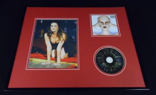 Katy Perry Framed 16x20 Witness CD & Walk of Fame Photo Display