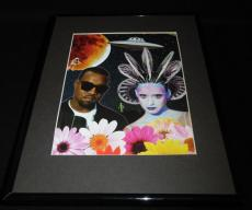 Katy Perry & Kanye West E.T. Framed 11x14 Photo Display