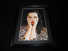 Katy Perry Leopard Framed 11x14 Photo Display