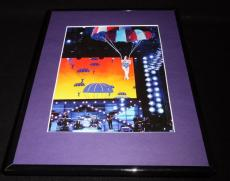Katy Perry Parachuting into Concert Framed 11x14 Photo Display