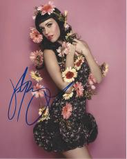 "KATY PERRY (POP/ROCK SINGER) Hits Include ""I KISSED A GIRL"", ""HOT N COLD"", and ""THE ONE THAT GOT AWAY"" Signed 8x10 Color Photo"