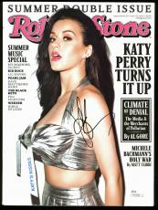 Katy Perry Signed 2011 Rolling Stone Magazine Autographed JSA #N55980