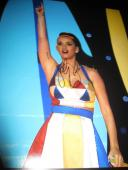Autographed Katy Perry Photo - 11x14 SUPERBOWL CONCERT SHOT COA NY X9