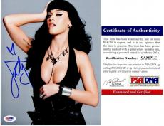 Katy Perry Signed - Autographed Sexy Pop Singer - Songwriter 8x10 inch Photo - PSA/DNA Certificate of Authenticity (COA)