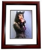 Katy Perry Signed - Autographed Pop Singer - American Idol Judge 10x15 inch Photo - MAHOGANY CUSTOM FRAME - Guaranteed to pass PSA or JSA