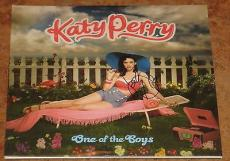 Katy Perry Signed One Of The Boys Album Vinyl Authentic Autograph Kissed A Girl