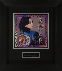 Katy Perry Signed Roar Album Flat Framed Display