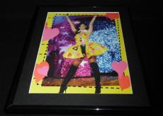 Katy Perry Thigh High Boots in concert Framed 11x14 Photo Display