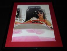 Katy Perry Wearing Heart Sunglasses Framed 11x14 Photo Display