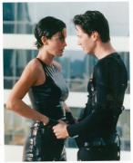 Keanu Reeves Carrie Anne Moss 8x10 photo glossy Image #2 The Matrix