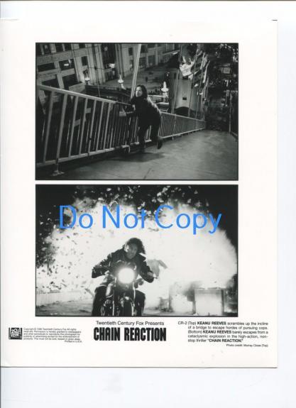 Keanu Reeves Chain Reaction Original Press Glossy Still Photo