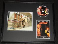 Keanu Reeves Signed Framed Speed 16x20 Photo & DVD Display AW
