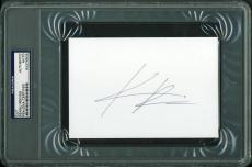 Keanu Reeves The Matrix Signed 4x6 Cut Autographed Psa/dna Slabbed
