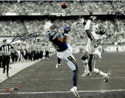 "Keenan Allen San Diego Chargers Autographed 11"" x 14"" Spotlight Photograph"