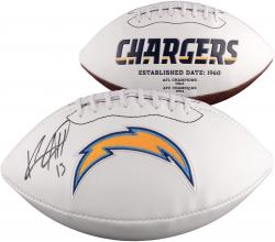 Keenan Allen San Diego Chargers Autographed White Panel Football