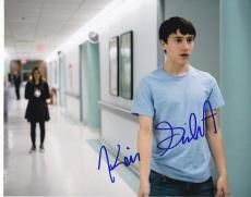 Keir Gilchrist signed It's Kind of a Funny Story 8x10 photo w/coa Craig #2