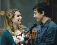 Keir Gilchrist signed It's Kind of a Funny Story movie 8x10 photo w/coa Craig #4