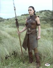 Keisha Castle-Hughes Game Of Thrones (Obara Sand) Signed 11X14 Photo PSA #Y37928