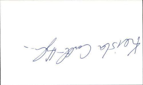 "KEISHA CASTLE-HUGHES WHALERIDER Signed 3""x5"" Index Card"