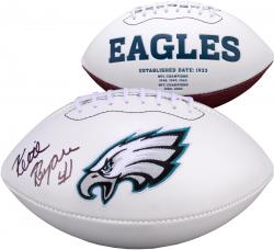Keith Byars Philadelphia Eagles Autographed White Panel Football
