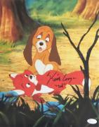 """Keith Coogan """"Young Tod"""" Signed Autographed 11x14 Photo JSA Fox and the Hound 4"""