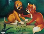 """Keith Coogan """"Young Tod"""" Signed Autographed 11x14 Photo JSA Fox and the Hound 5"""