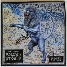 Keith Richards Autographed Rolling Stones Babylon Album Signed PSA coa FRAMED
