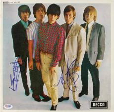 Keith Richards & Charlie Watts Signed Album Cover W/ Vinyl PSA/DNA #P02523