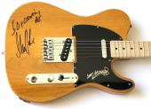 Rolling Stones signed Fender guitar Keith Richards mick taylor tele psa dna loa