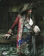 Keith Richards Pirates Of The Caribbean Signed 11x14 Photo PSA DNA COA Stones