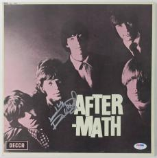 Keith Richards Rolling Stones After-math Signed Album Cover Psa/dna #v10778