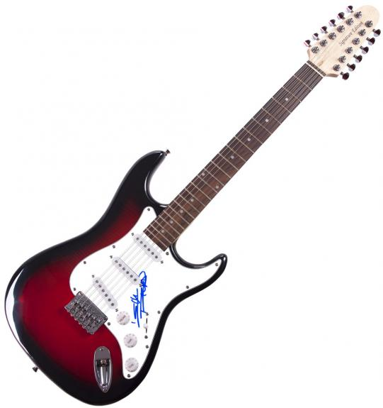 Keith Richards Rolling Stones Autographed 12-String Guitar UACC Exact Proof