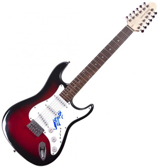 Keith Richards Rolling Stones Autographed Guitar & Exact Proof UACC AFTAL