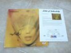 Keith Richards Rolling Stones Signed Autographed  Goats Head LP PSA Certified