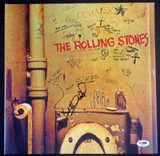 Keith Richards Rolling Stones Signed Beggars Banquet Album Psa/dna #t08671