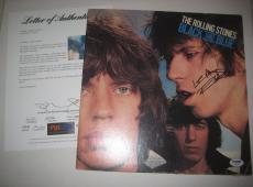 KEITH RICHARDS (Rolling Stones) Signed BLACK AND BLUE Album w/ PSA LOA