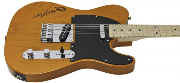 Keith Richards Rolling Stones Signed Fender Squire Tele Guitar PSA/DNA #AB10756