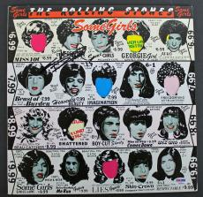 Keith Richards Rolling Stones Signed 'Some Girls' Album Cover PSA/DNA #AB04431