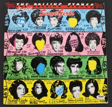 Keith Richards Rolling Stones Signed Some Girls Album Cover W/ Vinyl PSA AB08110