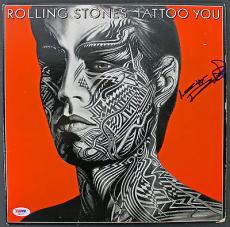 Keith Richards Rolling Stones Signed 'Tattoo You' Album Cover PSA/DNA #AA01975