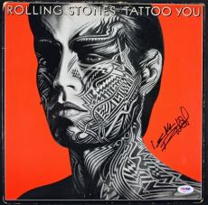 Keith Richards Rolling Stones Signed Tattoo You Album Psa/dna Graded 10 #t08672