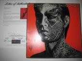 KEITH RICHARDS (Rolling Stones) Signed TATTOO YOU Album w/ PSA LOA