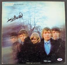 Keith Richards Signed Album Cover W/ Vinyl Auto Graded Gem 10! PSA/DNA #AB08113